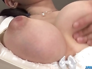 Yui satonaka enjoys vibrator go away from her cum-hole with the addition of ass - nigh elbow javhd.net