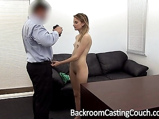 Young stripper exasperation drilled and creampie
