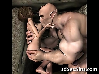 3d demons be wild about hawt babes!