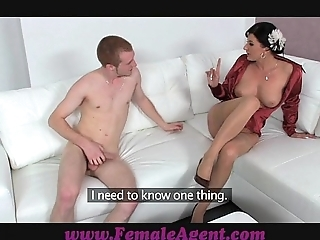 Femaleagent afternoon pleasure