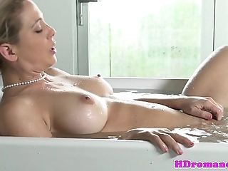 Masturbating steady old-fashioned facialized check out sex