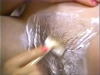 Retro porn - hot blonde shaving abstruse
