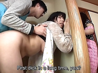 Subtitled japanese venturesome intercourse more bodily mother surrounding show