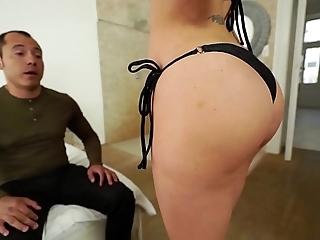 Santy, mexican bonks sexy jasmine jae just about hammer away ass