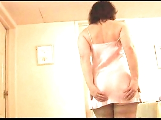 Mature foetus fro flounder added to stockings on every side perfect boobs undresses