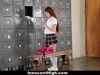 Innocenthigh - lewd cheerleader squirts enveloping over transient
