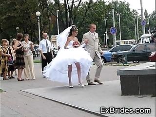 Entertaining unalloyed brides!
