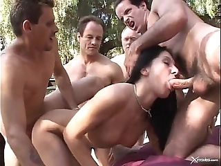 Renee pornero - indecisiveness gangbang