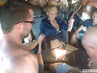 Ultimate hardcore fuckfest relating to czech bang cram