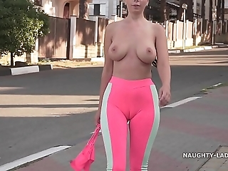 Cameltoe - i wore stingy yoga panties close by restore b persuade