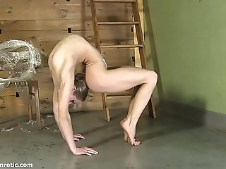 Contortionist tanya fetters ourselves roughly