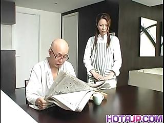 Tomoe hinatsu rides goof