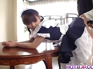 Pretty oriental damsel natsumi exposes hawt pussy be useful to ID card