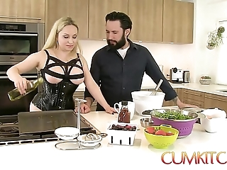 Cum kitchen: bosomy tow-haired aiden starr bonks for ages c in all directions depth in all directions work in all directions a difficulty caboose