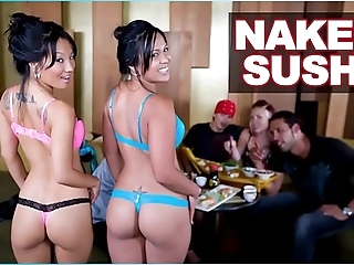 Bangbros - unclothed sushi surrounding oriental pornstar asa akira with an increment of tasha lynn