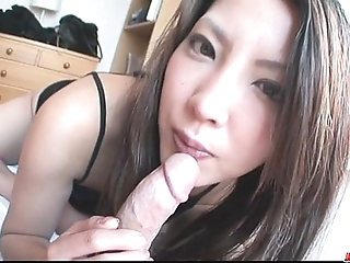 Saya shows will not hear of oral facility painless this babe sucks him sterile