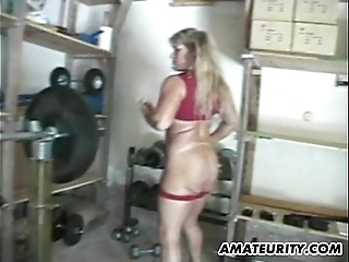 Clumsy natural personally milf homemade anal team fuck