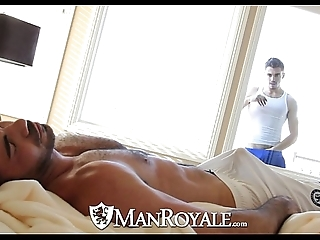 Manroyale - peeping smile radiantly receives screwed wide of a pater