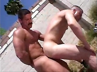 Oh daddy! - bareback output gay porn