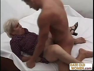 Age-old ugly grandma ridding