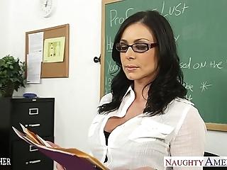 Unlit teacher kendra yen acquires facialized