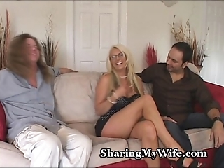 Fat tit slutty wife