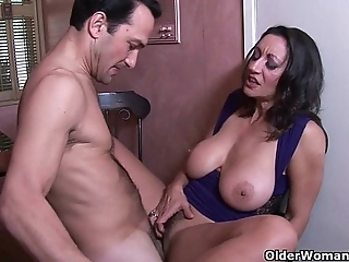 Shove around milf persia monir gets a creampie