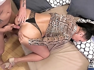 Kinky inlaws - throw a spanner into the works arse stab with russian milf eva ann coupled with juvenile stepson