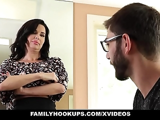 Familyhookups - sexy milf teaches stepson how relative to think the world of