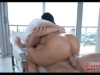 Hot chunky booty lalin girl victoria june drilled