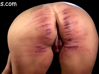 Unladylike ass rough-and-ready caned