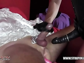 Femdom slavery anal shacking up milksop one of a pair