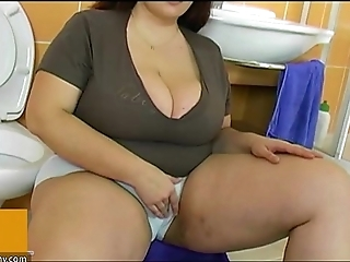 Bbw heavy adult be thrilled by down boy