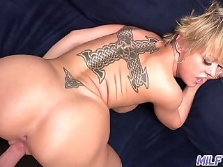 Unconscious of with an increment of sexy tow-headed milf dee williams - part 2