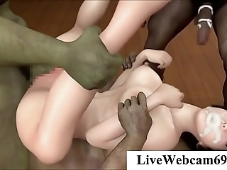 3d hentai yoga toddler screwed at the end of one's tether 2 outlander slaves - 3danimetube.com